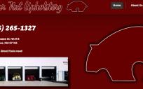Bear Nut Auto Upholstery shop specializing in custom hotrods.